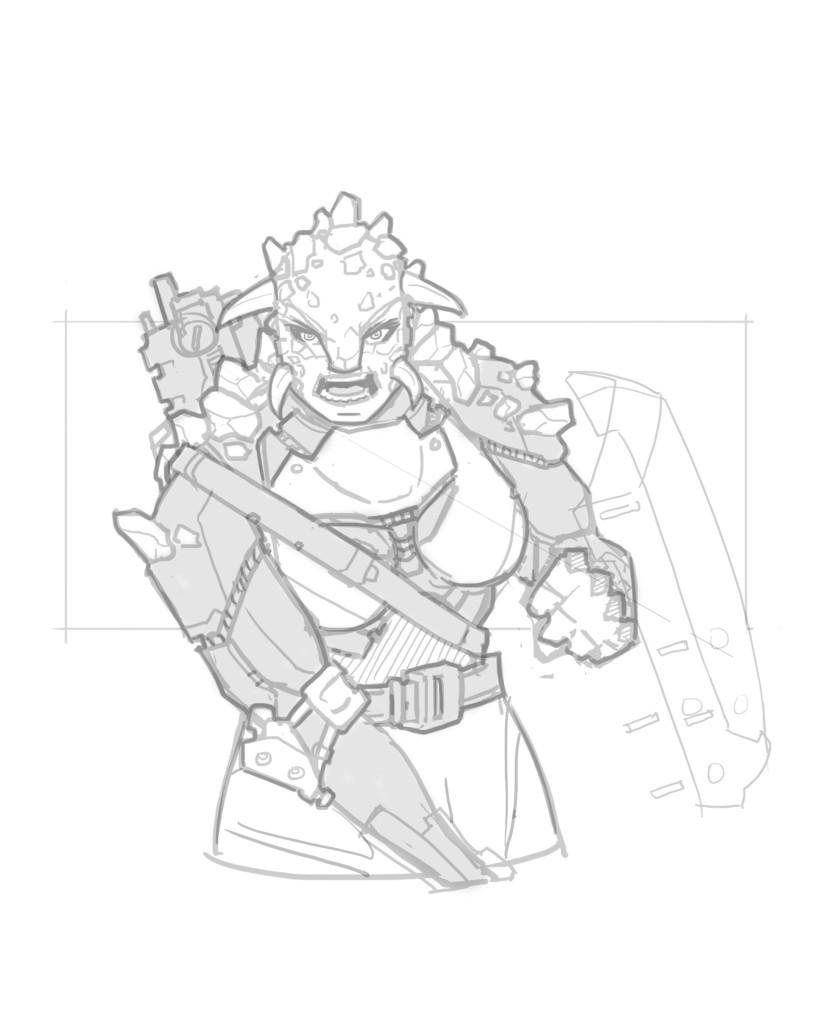 Female Ank - Sketch
