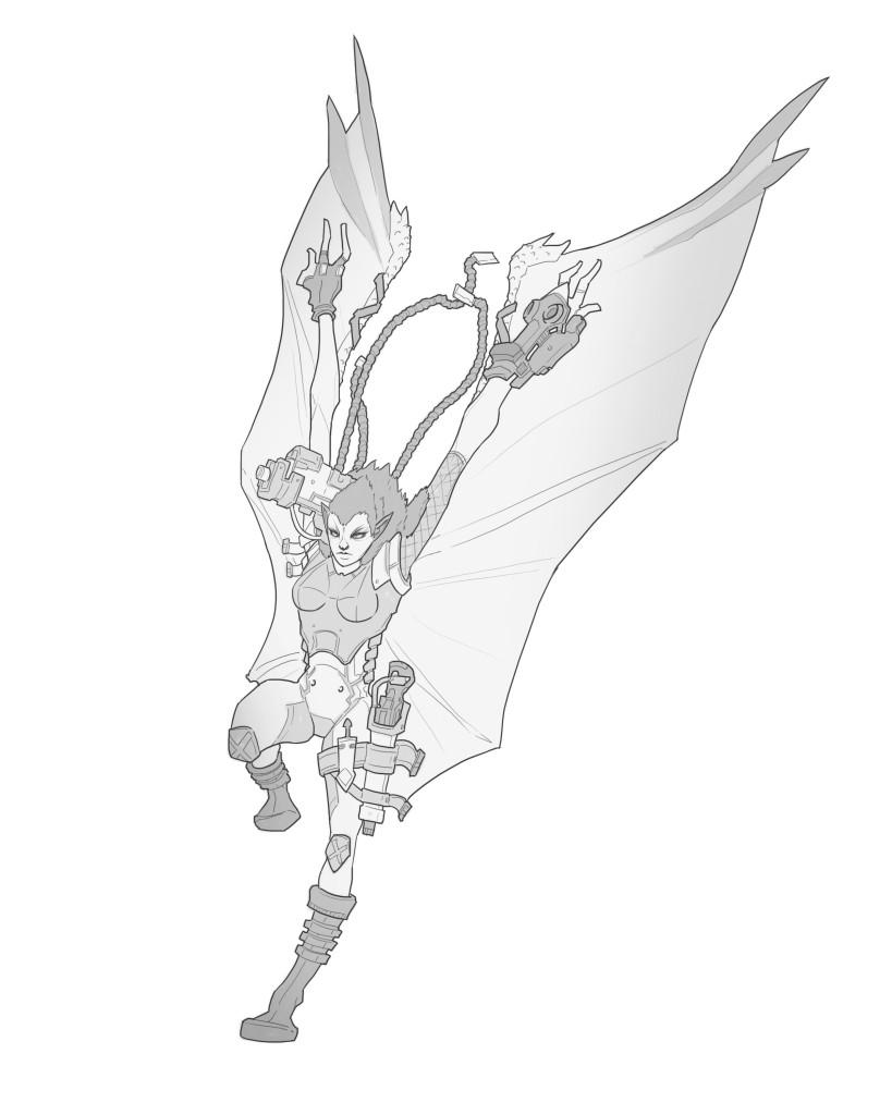 Hybrid - The Flying Rat